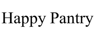 mark for HAPPY PANTRY, trademark #85961477