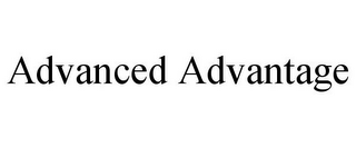 mark for ADVANCED ADVANTAGE, trademark #85961567