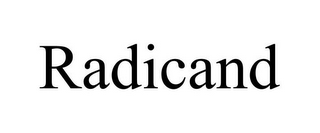 mark for RADICAND, trademark #85961617