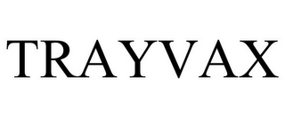 mark for TRAYVAX, trademark #85961879