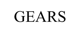 mark for GEARS, trademark #85962190