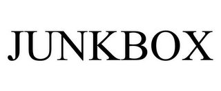 mark for JUNKBOX, trademark #85962388