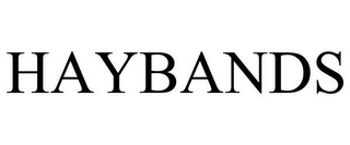 mark for HAYBANDS, trademark #85963163