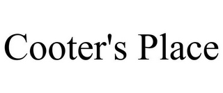mark for COOTER'S PLACE, trademark #85963859