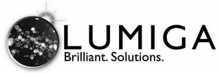 mark for LUMIGA BRILLIANT. SOLUTIONS., trademark #85964110