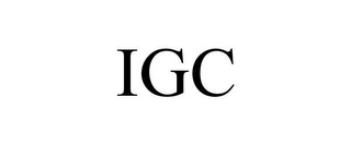 mark for IGC, trademark #85964189