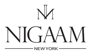 mark for NIGAAM NEW YORK, trademark #85964199