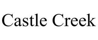 mark for CASTLE CREEK, trademark #85964228