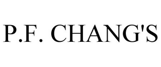 mark for P.F. CHANG'S, trademark #85964344