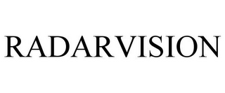 mark for RADARVISION, trademark #85964546