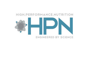 mark for HIGH.PERFORMANCE.NUTRITION HPN ENGINEERED BY SCIENCE, trademark #85965378