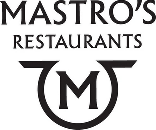 mark for MASTRO'S M RESTAURANTS M, trademark #85965532