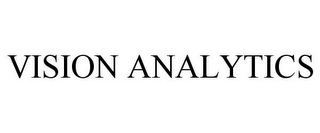 mark for VISION ANALYTICS, trademark #85965630