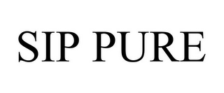 mark for SIP PURE, trademark #85965694