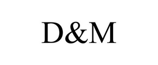 mark for D&M, trademark #85966705