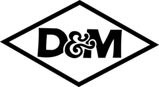 mark for D&M, trademark #85966759