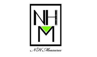 mark for NHM NH MEASURES, trademark #85967324