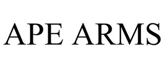 mark for APE ARMS, trademark #85967386