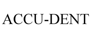 mark for ACCU-DENT, trademark #85967560