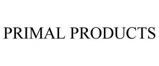 mark for PRIMAL PRODUCTS, trademark #85967593