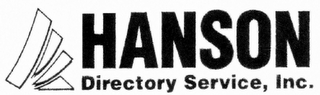 mark for HANSON DIRECTORY SERVICE, INC., trademark #85967649