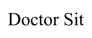 mark for DOCTOR SIT, trademark #85967873