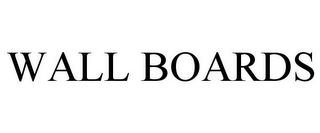 mark for WALL BOARDS, trademark #85968091
