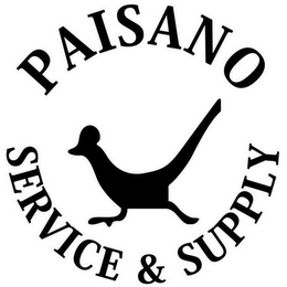 mark for PAISANO SERVICE & SUPPLY, trademark #85968481