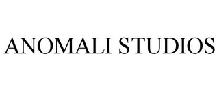 mark for ANOMALI STUDIOS, trademark #85968639