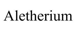 mark for ALETHERIUM, trademark #85968710