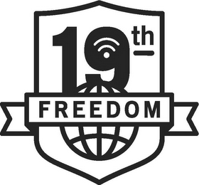 mark for 19TH FREEDOM, trademark #85968956