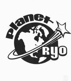 mark for PLANET RYO, trademark #85969484