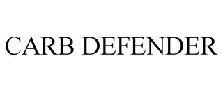 mark for CARB DEFENDER, trademark #85969742