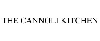 mark for THE CANNOLI KITCHEN, trademark #85969842