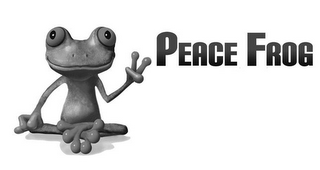 mark for PEACE FROG, trademark #85970119