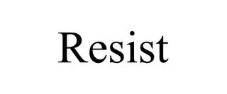 mark for RESIST, trademark #85970348