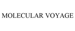 mark for MOLECULAR VOYAGE, trademark #85970504