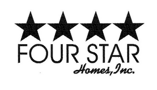 mark for FOUR STAR HOMES, INC., trademark #85970623
