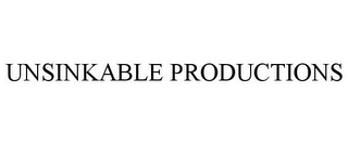 mark for UNSINKABLE PRODUCTIONS, trademark #85970673