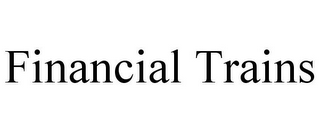 mark for FINANCIAL TRAINS, trademark #85971022