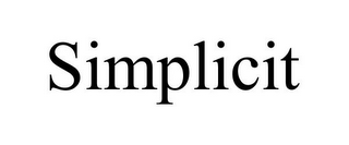 mark for SIMPLICIT, trademark #85971073