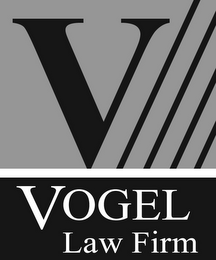 mark for V VOGEL LAW FIRM, trademark #85971157