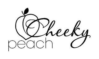 mark for CHEEKY PEACH, trademark #85971843