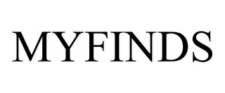 mark for MYFINDS, trademark #85972406