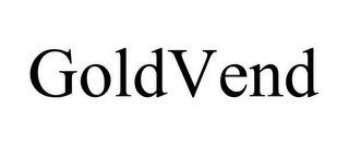 mark for GOLDVEND, trademark #85973190