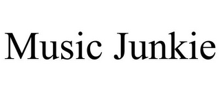 mark for MUSIC JUNKIE, trademark #85973537