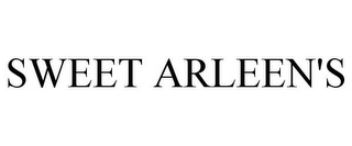 mark for SWEET ARLEEN'S, trademark #85973540