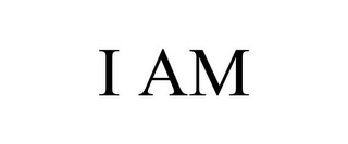 mark for I AM, trademark #85973789