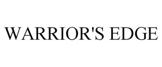 mark for WARRIOR'S EDGE, trademark #85974111