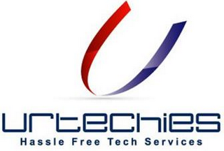 mark for U URTECHIES HASSLE FREE TECH SERVICES, trademark #85974320